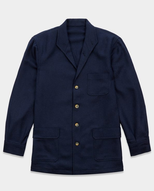 Teba Jacket Herringbone Navy
