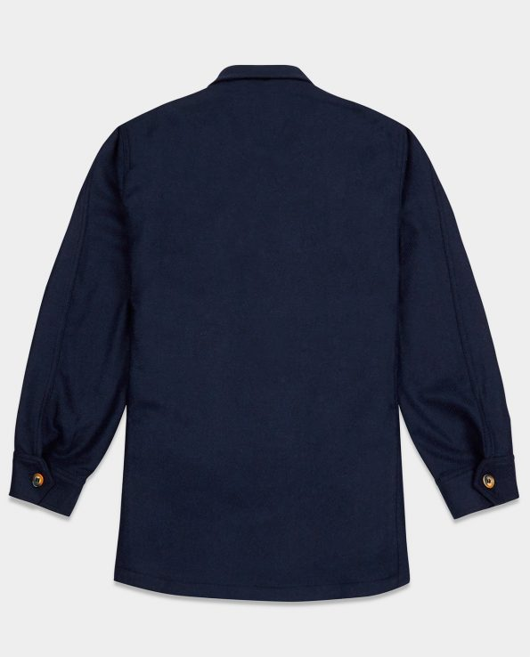 Last of England Teba Jacket Herringbone Navy