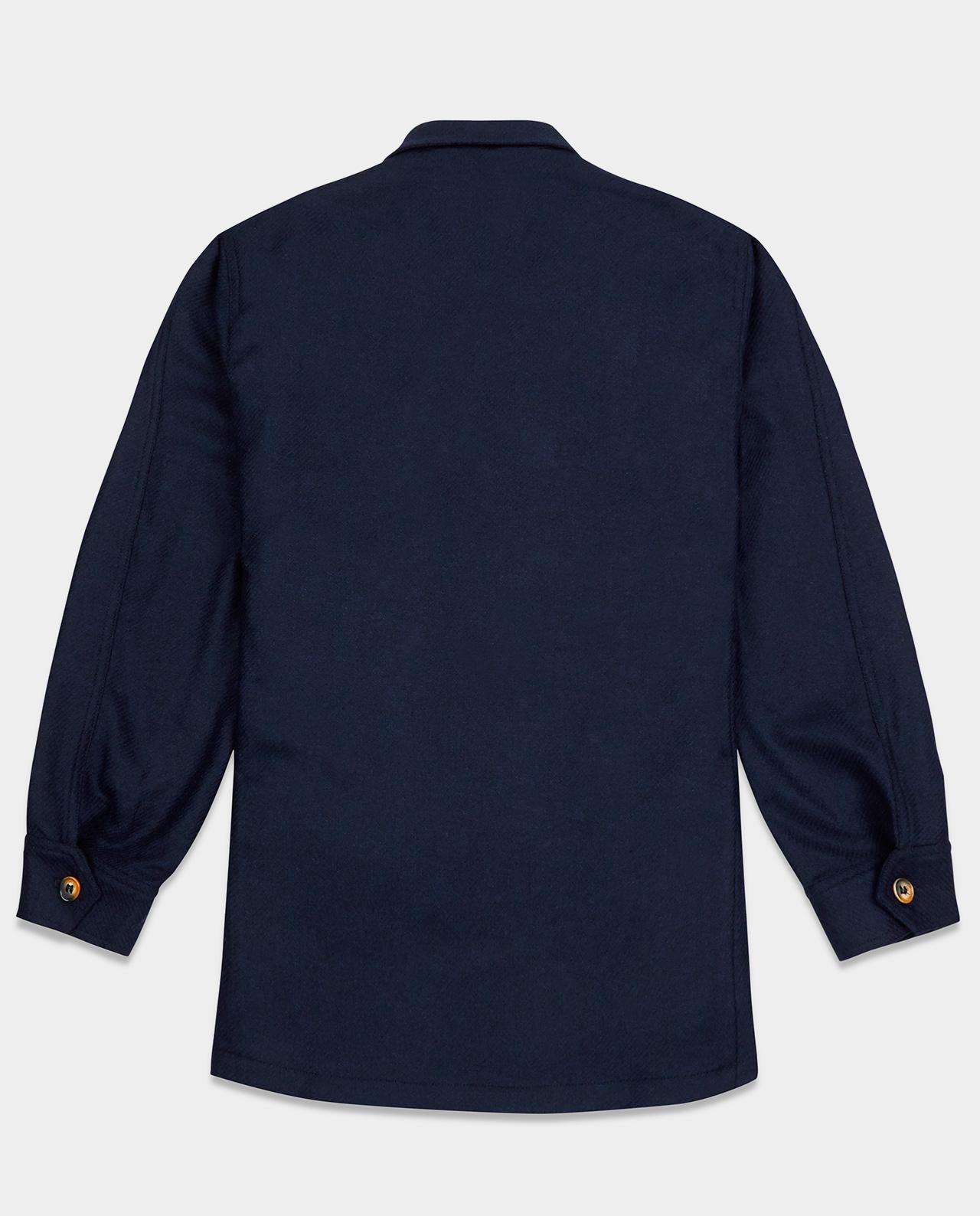 Last of England Teba Jacket Herringbone Navy