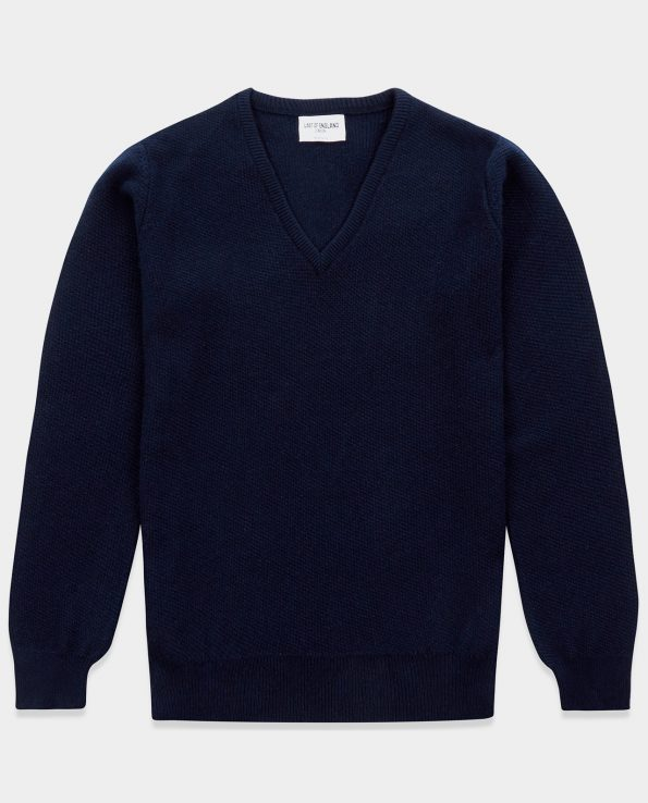 Honeycomb Stitch Navy