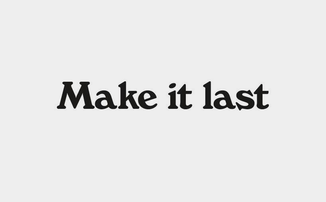 Make It Last Logo