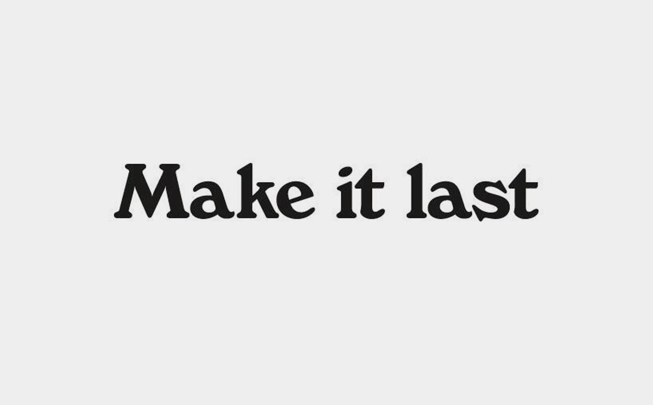 Make It Last Logo